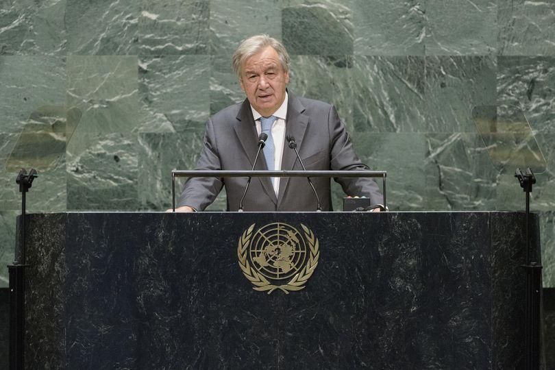 António Guterres reeleito Secretário-Geral da ONU