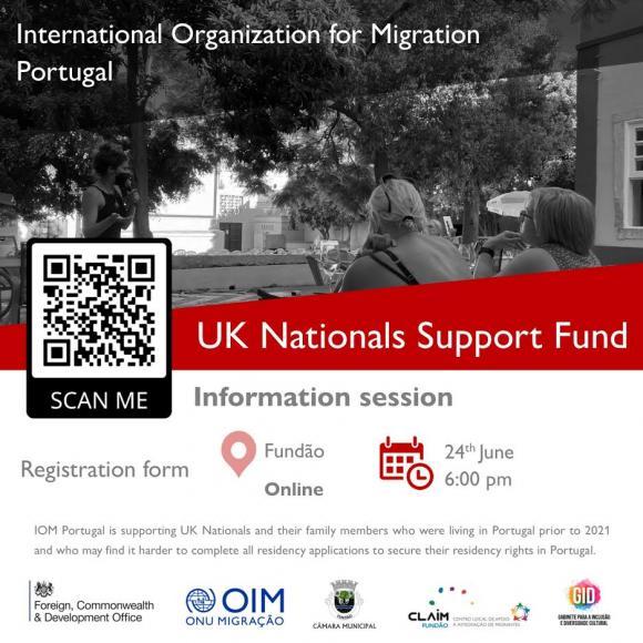 OIM – UKNSF – Sessão de Informação para Nacionais do Reino Unido em Portugal
